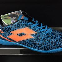 harga Sepatu futsal lotto original murah LZG VII ID black blue bom Tokopedia.com