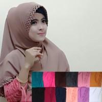 Syria Sellen Cutting, jilbab/hijab instan motif cutting jersey zoya