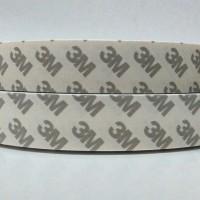 3M Double Tape untuk karet, metal, plastik dan kaca. Lebar 2,4cm
