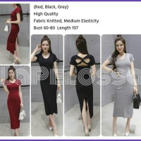 Midi Dress Knitted Import Code IW