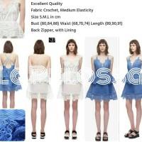 Dress Crochet Import Code IW