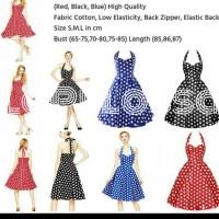 Polka Classic Style Dress Import Code IW
