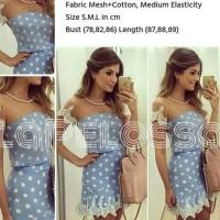 Elegant Dress polka Import Code IW