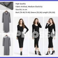 Midi Dress Knitted Import
