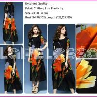 Jumbo Size Flower Dress Import Code IW