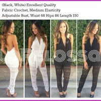 Jumpsuit Backless Import Code IW