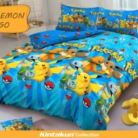 Bed Cover set Kintakun D'luxe 3D Queen 160 / King 180 POKEMON GO