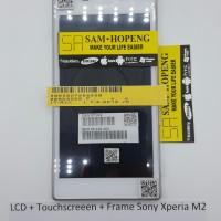 Sony Xperia M2 D2302 D2303 D2305 LCD + Touchscreen + Frame
