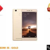 (hot) Xiaomi Redmi 3s Ram 2gb Rom 16gb - Gold - Garansi 1 Tahun