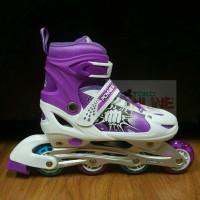 Sepatu Roda Anak Inline Skate Murah Power Line PL 6036 - Ungu 3a1db7b7af