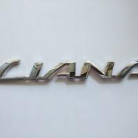 Emblem/logo/tulisan suzuki Liana