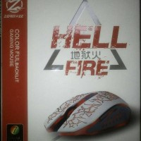 Mouse Gaming Zornwee HELL FIRE Z-032 Colorful Backlit LED