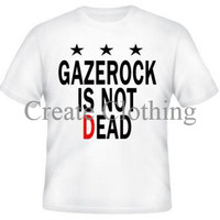 T-shirt Gazerock Is Not Dead