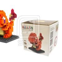 i Block Fun Charmander Loz Lego Diamond Blocks Mini Pokemon