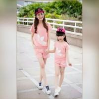 harga SF Baju Couple Mom n Kids / Kaos Couple Adidas Tokopedia.com