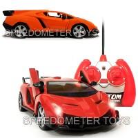 RC Mobil Lamborghini Veneno Pintu Buka Tutup dg Remote 1/24 Mainan Ana
