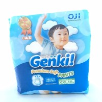 Nepia Genki Pants XXL 18 / XXL18 Celana Pampers Diapers