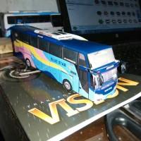 harga miniatur bus blue star Tokopedia.com