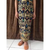 Rok Batik Prada Panjang Bawahan Pasangan Kebaya Wisuda Wanita RPR001