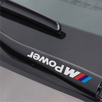 Sticker Stiker Wiper Mobil BMW M Power (2 buah)