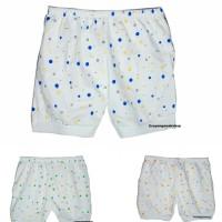 Jual celana pendek bayi katun putih Murah