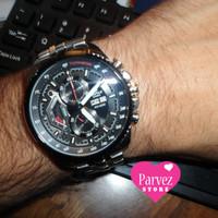 Jam tangan pria casio edifice EF 558D 1AV Black garansi promo sekarang