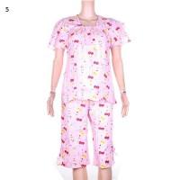 Baby Doll | Baju Tidur | Setelan Kulot Batik Selena - Warna 5