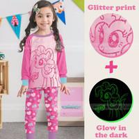 GLOW - Baju Setelan Piyama Tidur Anak - MY LITTLE PONY (SL1623)