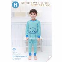 Baju Setelan Tidur / Piyama Anak - BLUE BEAR GW (SL1613) - 1302