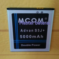 Baterai Battery Advan S5J+ Double Power 5000mAh
