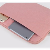 tas laptop untuk Macbook Air (Waterproof ),Pro,Retina 11-13inch (pink)