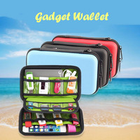 Gadget Wallet Tempat Simpan Power Bank Charger Gadget Kabel Flashdisk