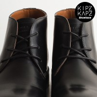 BLACK 80cm 100cm Waxed Cotton Round Shoelace Tali Sepatu Lilin Hitam