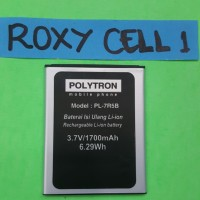 Polytron W6500 R2401 PL-7R5B Baterai Battre Batere Baterai PL7R5B