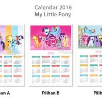 Jual Kalender My Little Pony 2016. Calendar yearly tahunan b Murah Murah