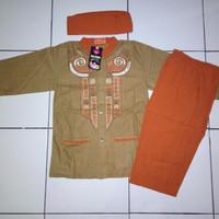 Baju koko anak laki-laki usia 6-10 tahun