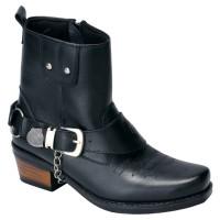 harga SEPATU TOURING BIKER ADVENTURE BOOTS COWBOY HITAM ( OZZ 334 ) DANESHI Tokopedia.com