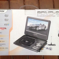 Portable DVD Asatron 9 In PDVD-995 (Dengan TV Tuner)