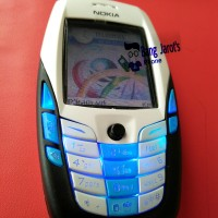 Nokia 6600 IMEI TEMBUS+ charger ORIGINAL+ MMC 1 GB + manual book+CD