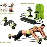 Jual Revoflex Xtrem Alat Olahraga Fitness Tali Lentur / Alat Gym Praktis Murah