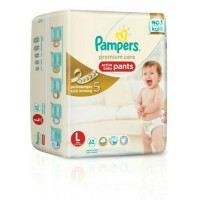 harga Pampers Premium Care Pants L-62 Tokopedia.com
