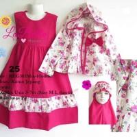 harga dress gamis bolero anak labella 3-6th reg302mix-hoodie fanta Tokopedia.com