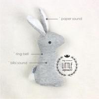 harga Boneka kelinci rabbit bunny plush toys mamas papas baby rattle stick Tokopedia.com