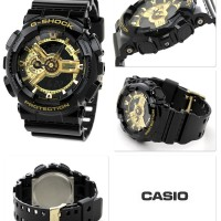 Casio Gshock GA110-GB list gold ori bm water resist