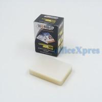 Laminating Film Ukuran ID KTP 250mic Hombo