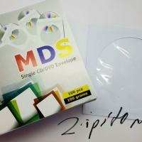 Amplop CD DVD BD Pocket Envelope HVS 100 Gsm Isi 100 Putih
