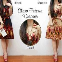 Dress Clara Prisma Cream