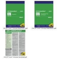 CFA 2017 Level 1 - Paket Komplit