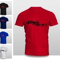 Kaos Baju Pakaian Otomotif Motor Kawasaki Ninja 300 Murah
