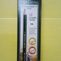 Pensil Faber Castell 2B (Pack 12 Pcs)